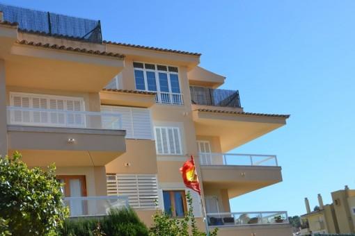 Zentral gelegene Wohnung mit  Sonnenterrasse in Santa Ponsa