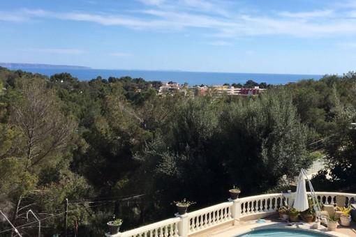 Finca mit beeindruckendem Blick in Costa  d'en Blanes