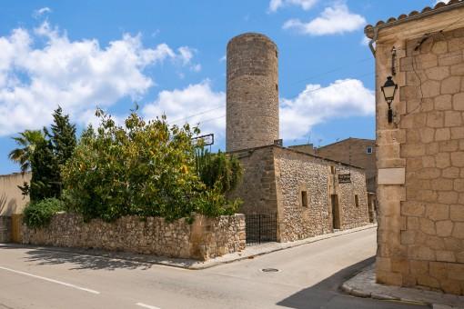 Schöne Mühle mit 2 Terrassen in Sant Llorenç des Cardassar