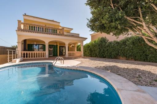 Schöne Villa mit Pool ganz in der Nähe vom Naturstrand Es Trenc in Sa Rapita