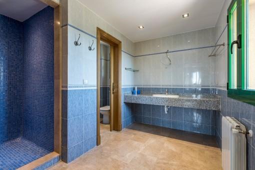 Zweites Badezimmer der Finca