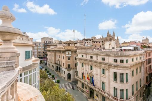 Wunderschöne, große Altstadtwohnung in Bestlage in Palma