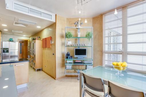 Alternative Ansicht des Küchenbereiches