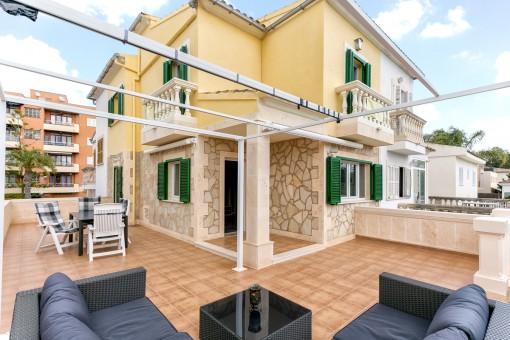 Schönes Duplexapartment in einer kleinen, gepflegten Wohnanlage in Can Picafort