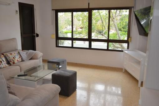 Ideale, zentral gelegene Wohnung neben einem Park in Palma