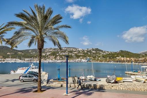 Hafenblickwohnung in erster Linie in Port d'Andratx