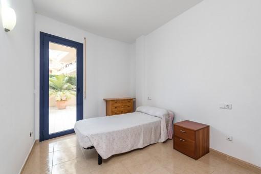 Die großzügige Wohnung hat insgesamt 3 Schlafzimmer