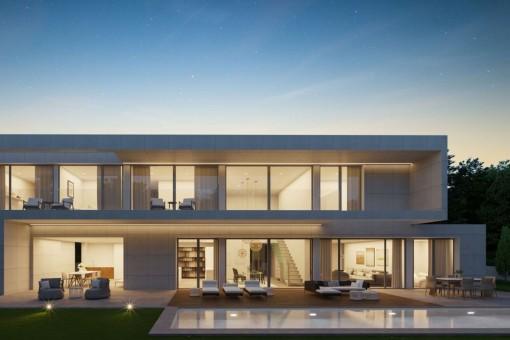 Moderne Neubau-Villa in guter Lage in Santa Ponsa