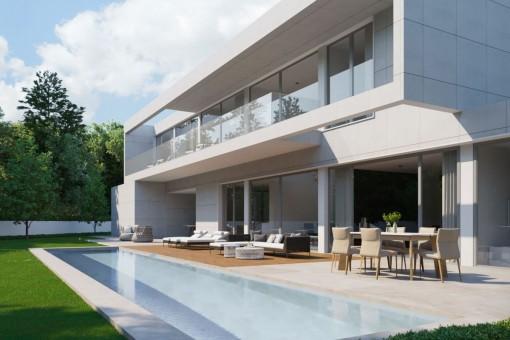 Modernes Villenprojekt in Santa Ponsa