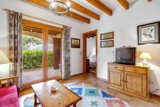 Kleines Apartment in gepflegter Anlage mit Gemeinschaftspool in Canyamel