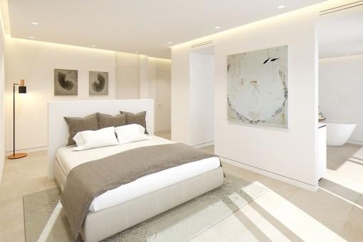 Hauptschlafzimmer Suite