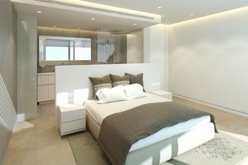 Weiteres luxuriöses Schlafzimmer