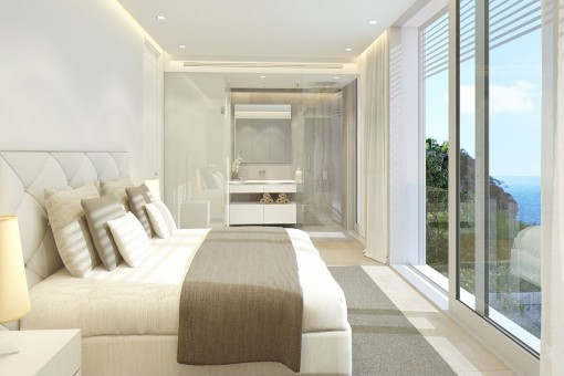 Sensationelles Doppelschlafzimmer mit Badezimmer en Suite