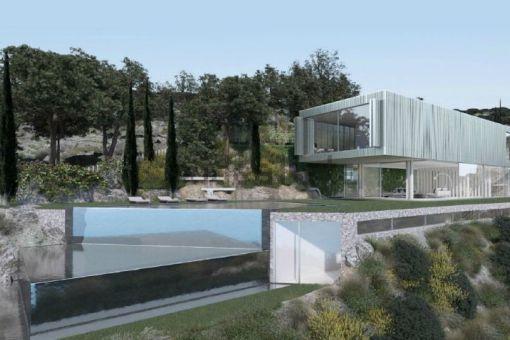 Spektakuläres, modernes Villenprojekt in einer ruhigen Gegend in Costa de la Calma