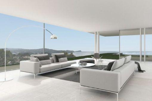Lounge Bereich mit Panoramablick