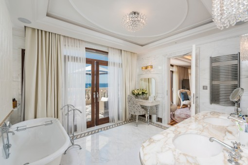 Das Badezimmer en Suite