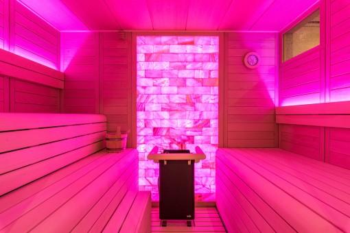 Alterntive Ansicht der Sauna