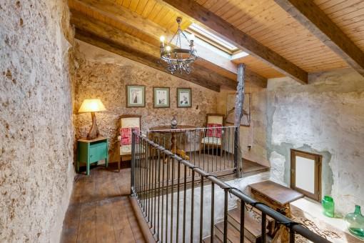 Charmante Galerie auf dem Obergeschoss