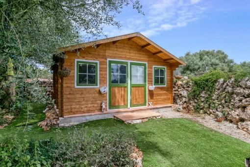 Separates Sommerhaus im Garten