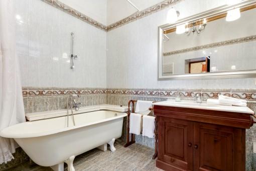 Antikes Badezimmer