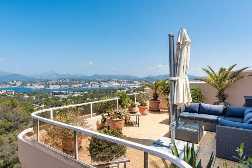 Traumhafte Meerblickwohnung in Santa Ponsa