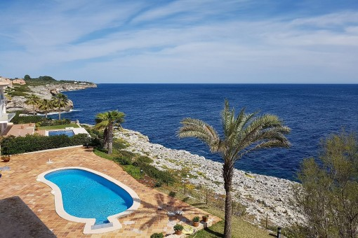 Top Villa in erster Meereslinie in Porto Cristo