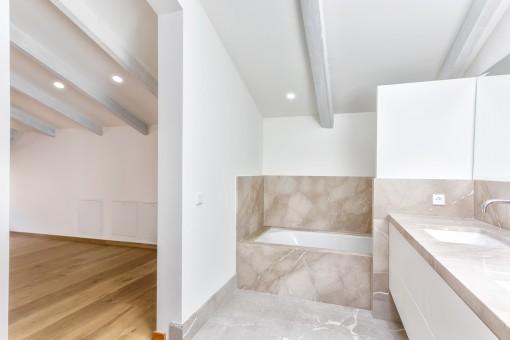 Das schöne Badezimmer en Suite