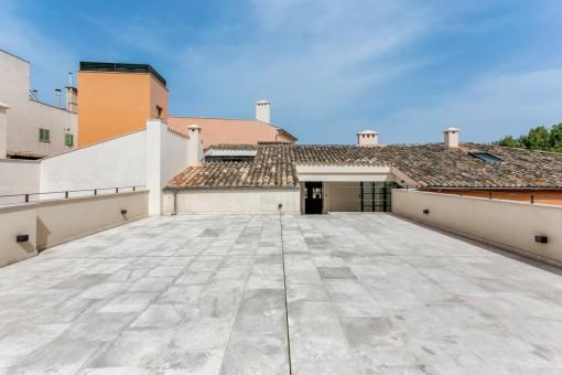 Ansicht von der Dachterrasse