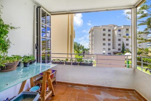 Eine gemütliche Wohnung mit 3 Schlafzimmern, nur wenige Schritte von Puerto Portals entfernt