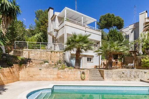 Charmante Villa mit Meerblick in Costa d'en Blanes