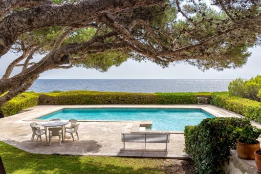 Wunderschöne Villa in erster Meereslinie in Cala Ratjada
