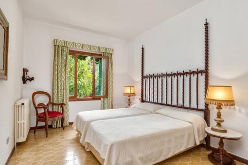 Gästezimmer mit separaten Betten