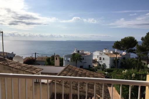 Bezaubernde Wohnung mit super Meerblick in Cala Pi