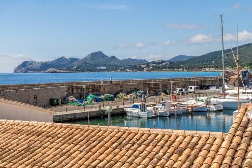 Traumwohnung mit Blick auf den Hafen von Cala Ratjada