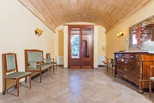 Antiker Eingangsbereich