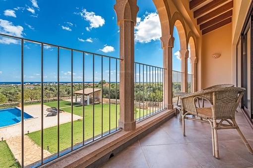 Toller Meerblick von der Terrasse