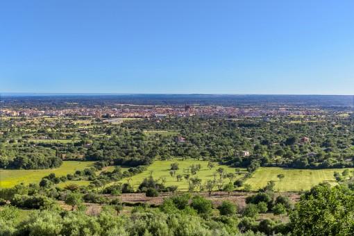 Beeindruckender Panoramablick