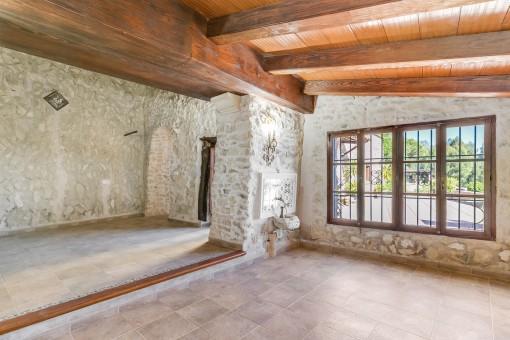 Der älteste Teil der Finca wurde liebevoll renoviert