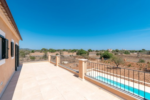Fantastische Terrasse mit Panoramablick