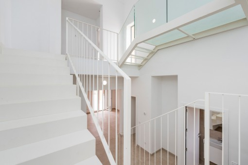 Elegantes Treppenhaus