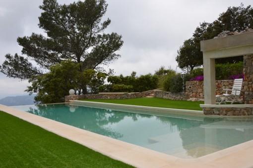 Spektakuläre Villa in Esporles mit Blick über die Landschaft