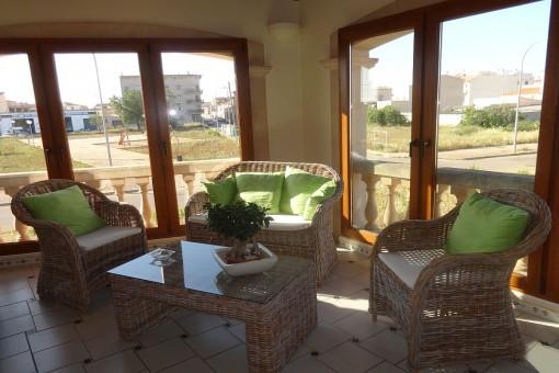 Ruhig gelegene Wohnung am Dorfrand von Campos