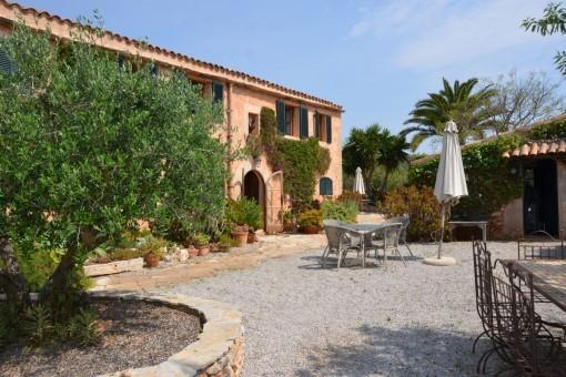 Familienanwesen mit wunderschönem Garten in Santanyí