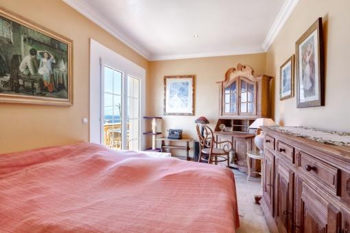 Die Villa verfügt über 3 Schlafzimmer