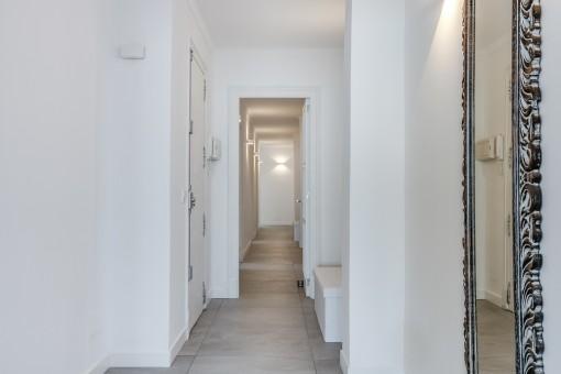 Attraktiver Eingang zur Wohnung