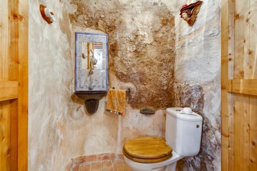 Originelles WC