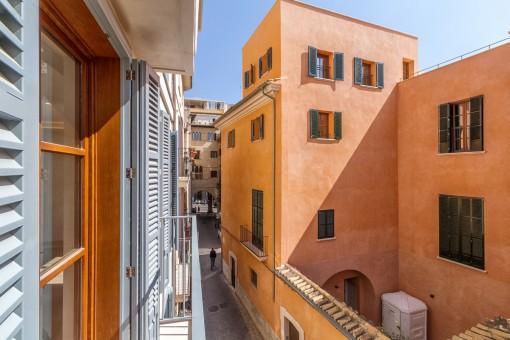Exklusive Neubauwohnung mit Parkplatz in ruhiger und dennoch zentraler Lage von Palmas Altstadt