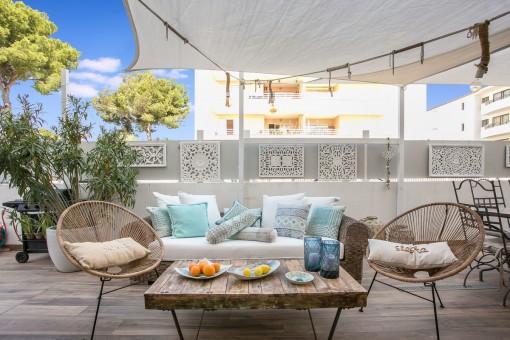 Zauberhafte Wohnung mit Pool im Herzen von Cala Ratjada