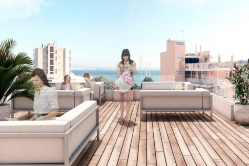 Exklusive Wohnung in El Terreno, mit Hotelservice, ein ausgezeichnetes Investitionsobjekt
