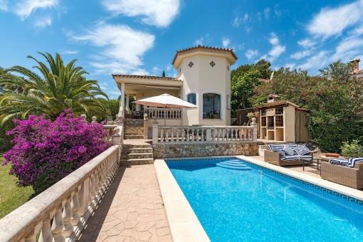 Gemütliche Villa mit Bergblick in Costa de la Calma
